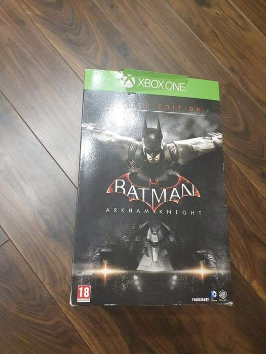 Nowa gra na konsole Xbox One Batman Arkham Knight Limited Ed Piotrków Trybunalski - image 1