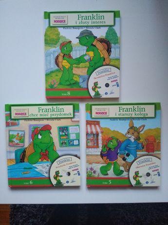 3x Franklin i starszy kolega / chce mieć przydomek  i złoty interes+CD