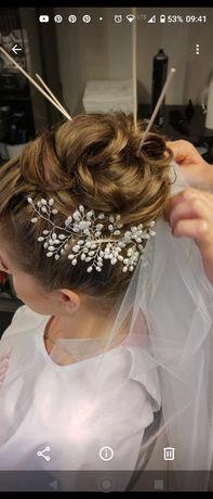 Ślubna ozdoba do włosów