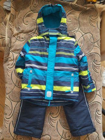 Зимний комплект Topolino 110 куртка и полукомбенизон