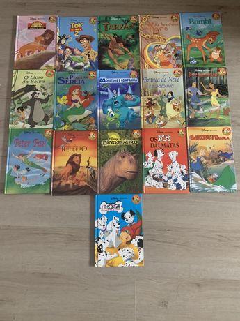 16 livros Disney