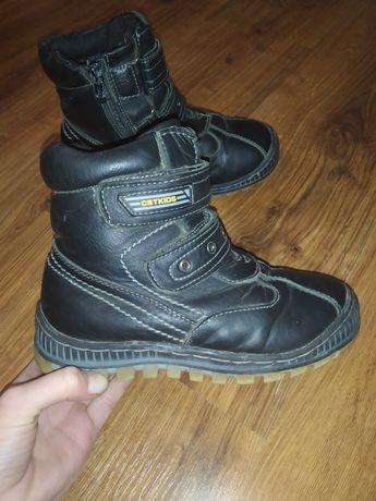 Ботинки шкіряні