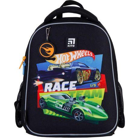 Рюкзак школьный каркасный Kite Hot Wheels HW21-555S
