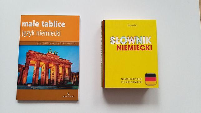 Zestaw słownik+ małe tablice