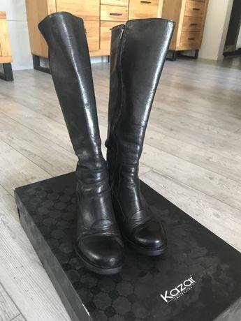 Buty kozaki czarne kazar rozm 37