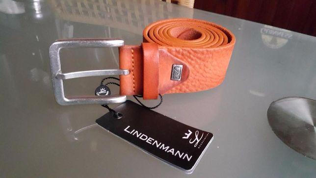 Pasek Lindenmann Belt skóra naturalna pas 115