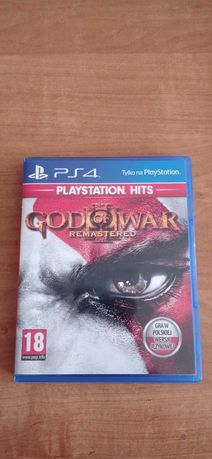 God of War III Remastered PS4. Stan idealny!