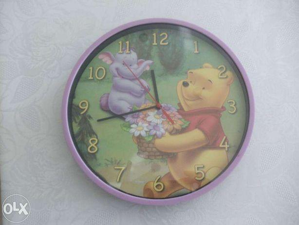 Zegar z Kubusiem Puchatkiem