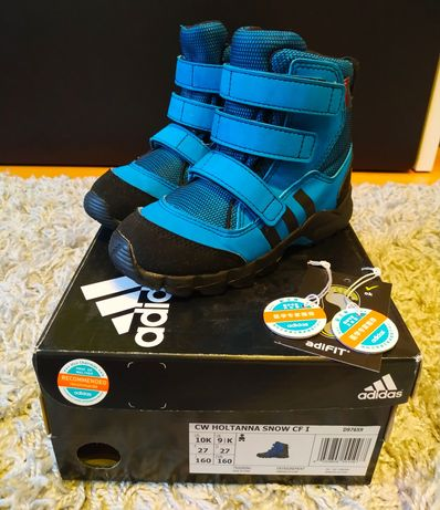 Buty zimowe, śniegowce- Adidas r.27