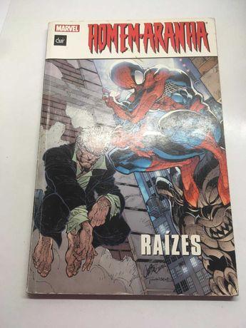 Livro BD - Homem-Aranha (Raízes)