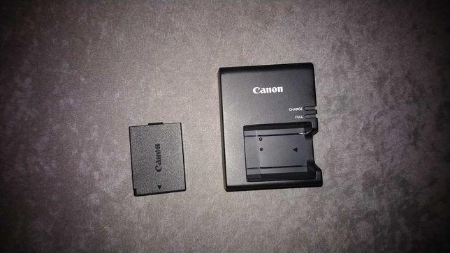 Ładowarka LC-E10E+kabel+akumulator wszystko Canon oryginalna