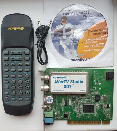 TV тюнер для компьютера avermedia 307