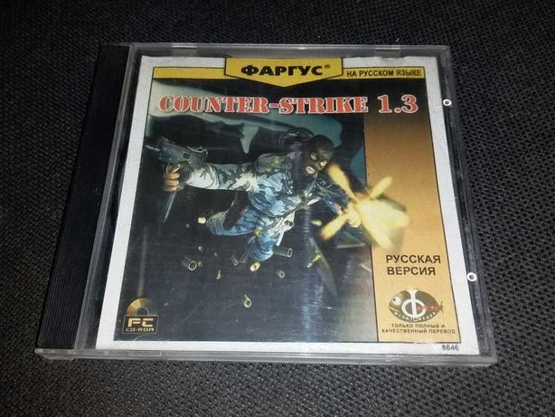 диск CD Counter Strike Фаргус pc