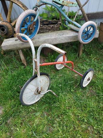 Stary rowerek trójkołowy z PRL jak AZAK MOSKWICZ