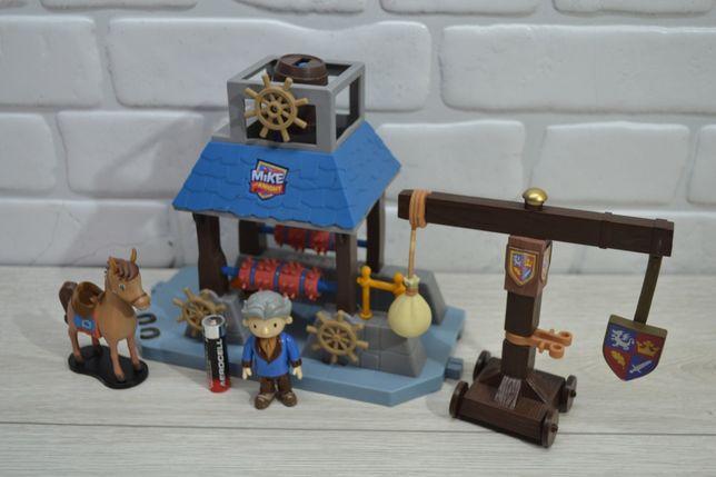 Набор игровой колодец конюшня замок крепость рыцарь Майк Mike