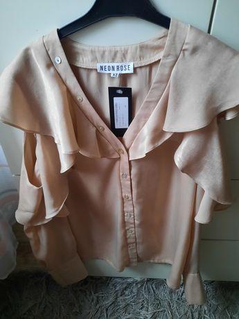 Nowe bluzki roz xs