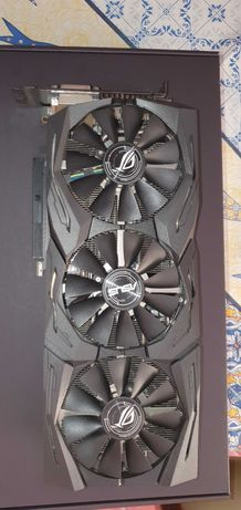 Placa Gráfica Asus Radeon RX580 ROG Strix 8GB OC GDDR5
