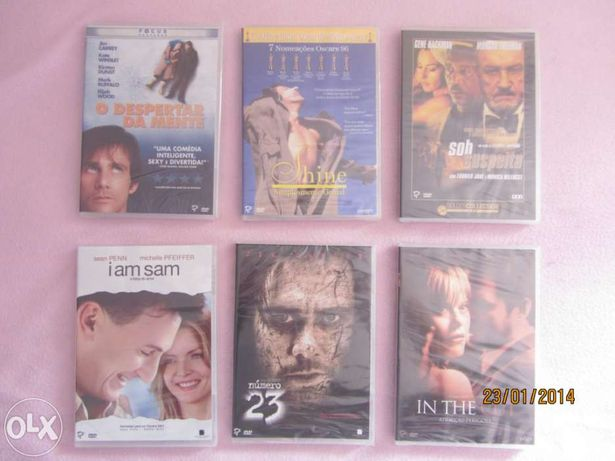 Vendo vários DVD originais e alguns ainda fechados