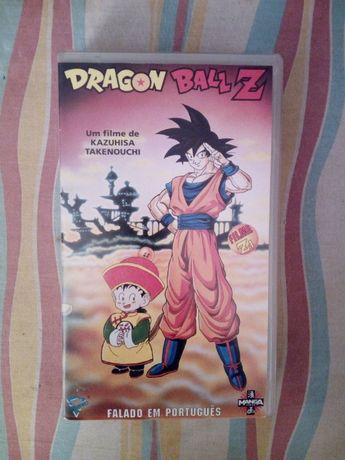 Cassete VHS Dragon Ball Z