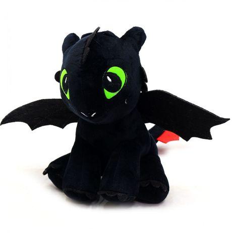 Мягкая игрушка Беззубик, Белая Фурия из м/ф Как приручить дракона?