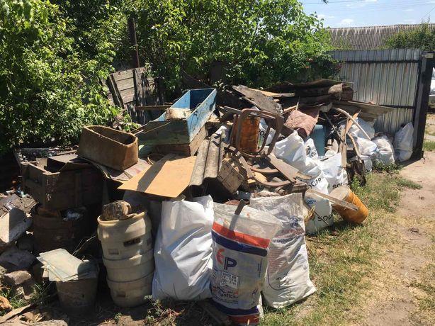 Газель, вывоз строительного мусора, старой мебели, хлама.