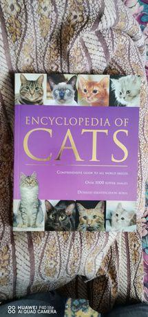 Encyclopedia of cats энциклопедия о котах на немецком