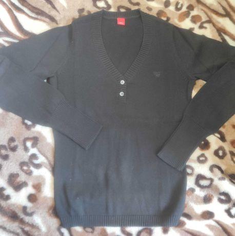 Esprit XS sweter sweterek bluzka czarny stan idealny