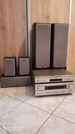 Kino domowe Yamaha DVD-S540 HTR-5630RDS +zestaw głośników Eltax