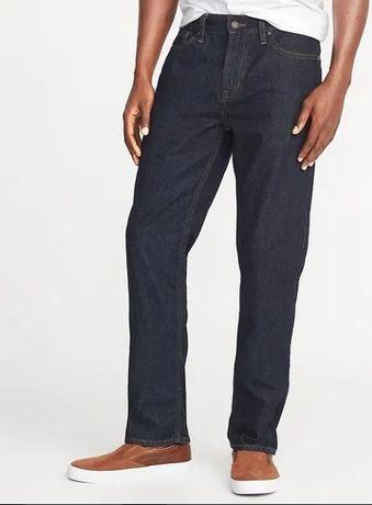 Джинсы Old Navy Straight Rigid Jeans W36 L32 новые