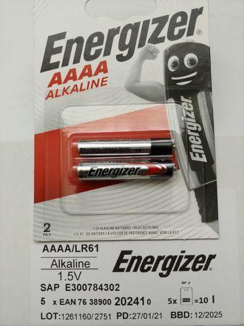 Батарейка Energizer AAAA/LR61 (2шт на блистере)