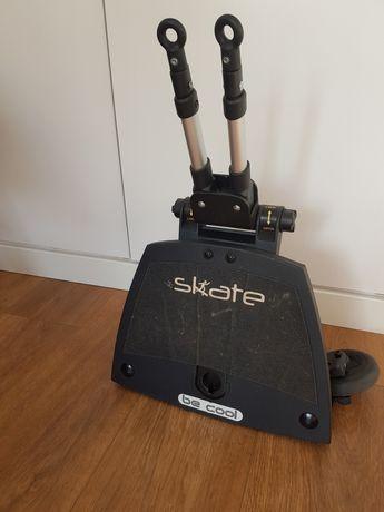 Skate plataforma be cool com adaptador universal carrinho criança