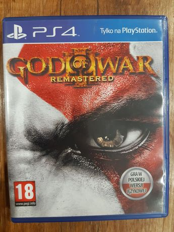 Nowa Gra PS4 God of War Remastered
