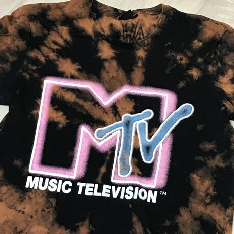 Футболка MTV Custom (m) Vintage music techno marvel nike huf