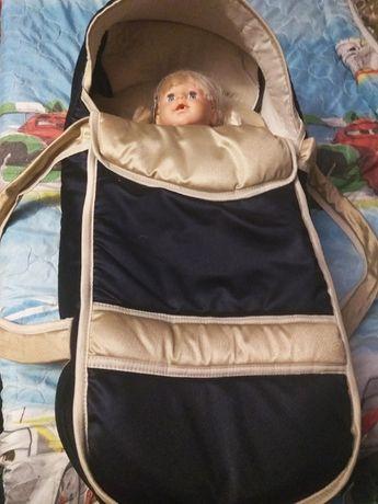 Сумка - переноска для новорожденных (до 11кг)