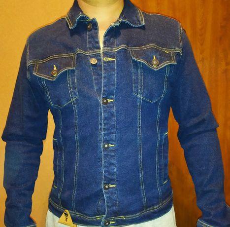 Kurtka jeansowa Diverse L - slim fit