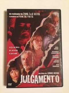 """DVD """" Julgamento """", de Leonel Vieira - """" Zona J """", """" A Selva """""""