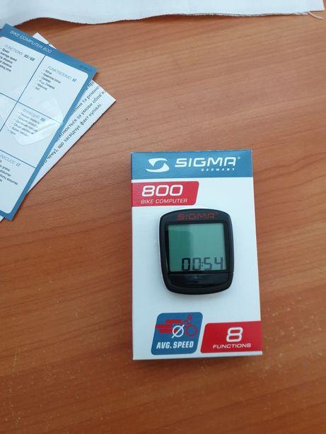 Велокомп'ютер sigma 800 ,спідометр для велосипеда