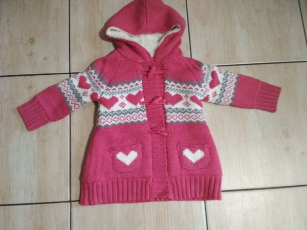 Śliczny ocieplany sweterek Young Dimension