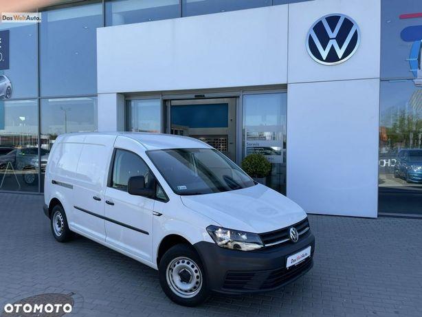 Volkswagen Caddy  Polski Salon Serwis ASO 2.0TDI 102KM MAXI Faktura VAT Marża