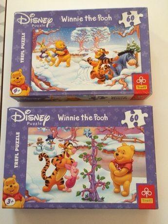 Puzzle Trefl Winnie the Pooh Kubuś Puchatek 60 elementów