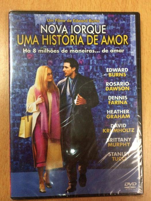Nova Yorque Uma Historia de Amor DVD Paranhos - imagem 1