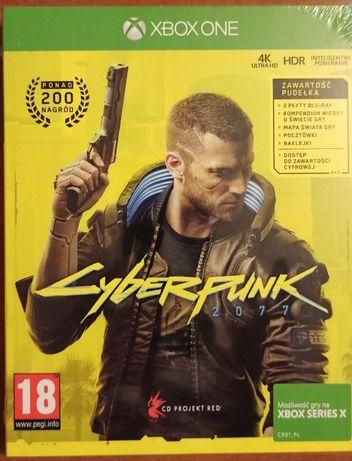 Cyberpunk 2077 PL XBOX ONE / SERIES X nowa, FOLIA!