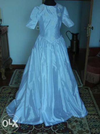 Vendo Vestido de Noiva Novo Aragom