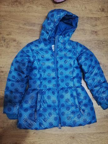Куртка осіння на дівчинку 10-12 років