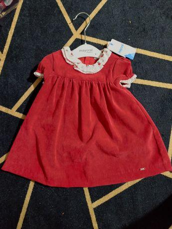 Vestido Mayoral Novo tamanho 12 meses
