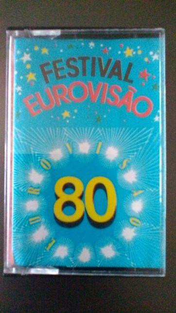 EUROVISAO--Festival Ano 1980 Cassete Original Impecavel