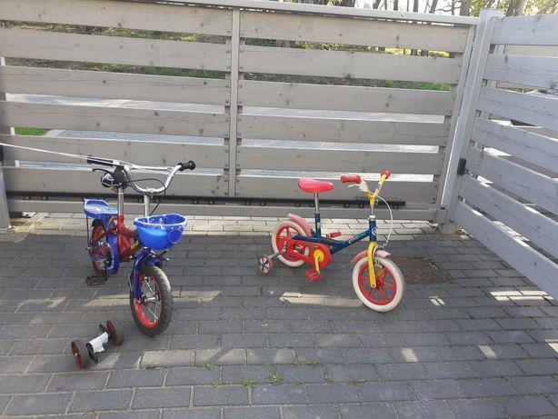 Rowerki dziecięce.