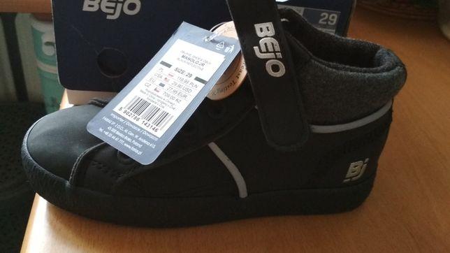 Juniorskie buty Bejo Rozmiar 29 NOWE.