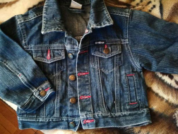 Джинсова курточка 12- 18 міс 83 см