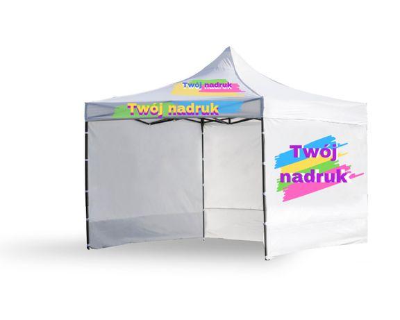 Namiot HANDLOWY, REKLAMOWY 3x3m z nadrukiem